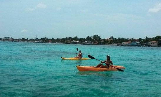 Rent A Kayak In San Pedro, Belize