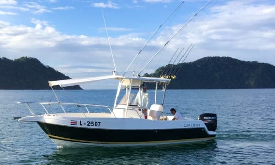 Enjoy Fishing In Herradura, Costa Rica On 24' The Skies Center Console