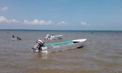 Spend Time Fishing in Belize City, Belize on Dinghy
