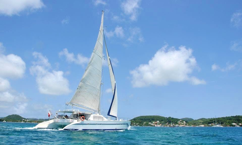 Charter 64' Pelagia Cruising Catamaran in Les Trois-Îlets, Martinique