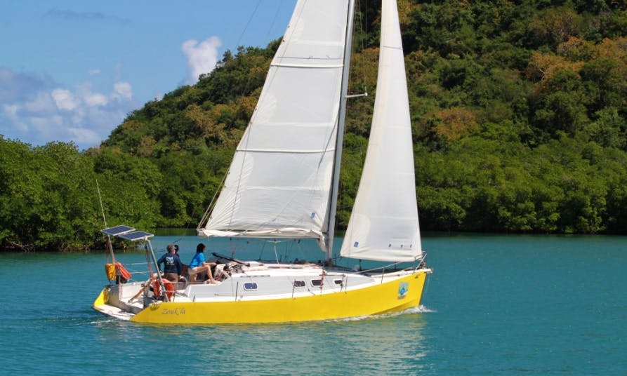 Charter 36' Zouk'La Cruising Monohull in Le Robert, Martinique