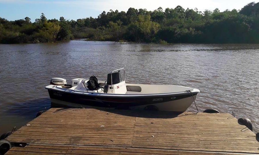 Enjoy Fishing in Paraná, Argentina on Center Console