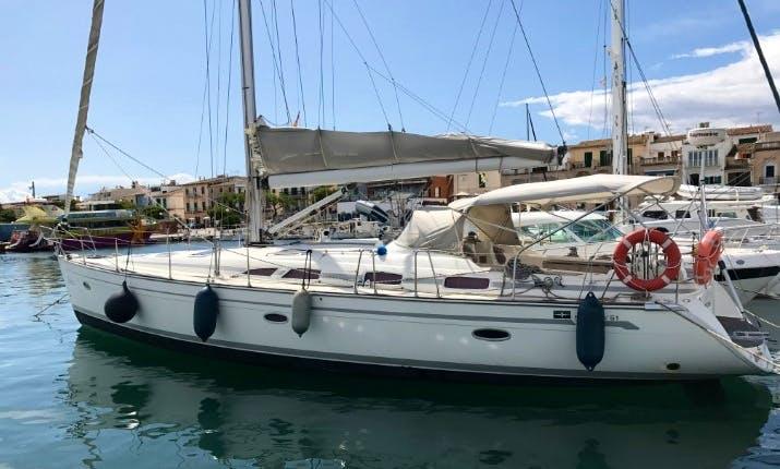 "Bavaria 51 ""Nereida"" Sailing Yacht Charter in Tenerife, Spain"