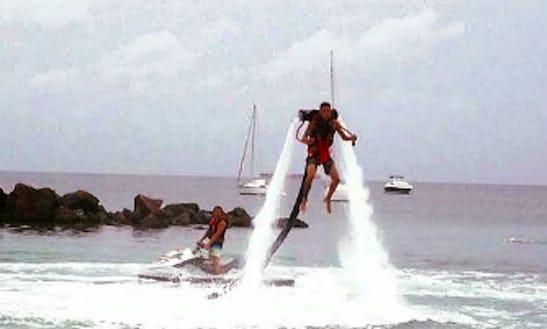 Enjoy Jet Pack In Les Trois-Îlets, Martinique
