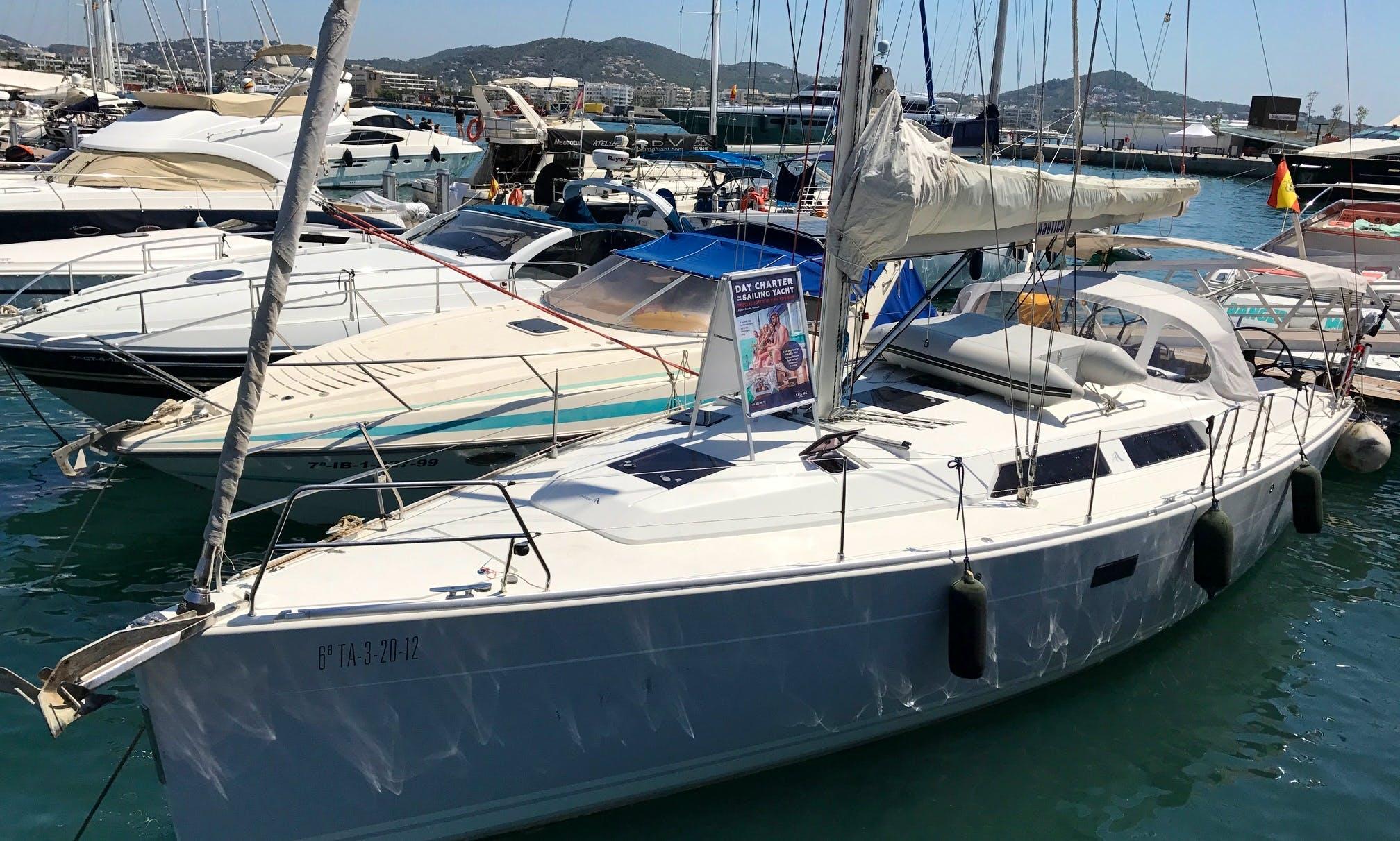 """Charter Hanse 400 Performance """"Nauticum"""" in Tenerife, Spain"""