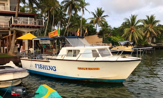 Charter A Cuddy Cabin In Aluthgama, Sri Lanka For Up To 8 Person For Next Boating Adventure