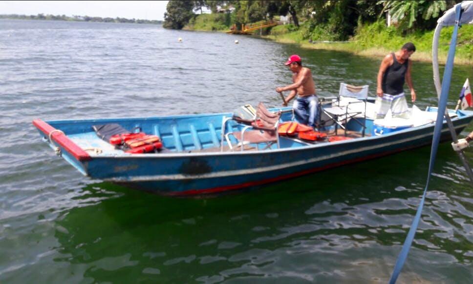 Enjoy Fishing in Provincia de Colón, Panama on Jon Boat