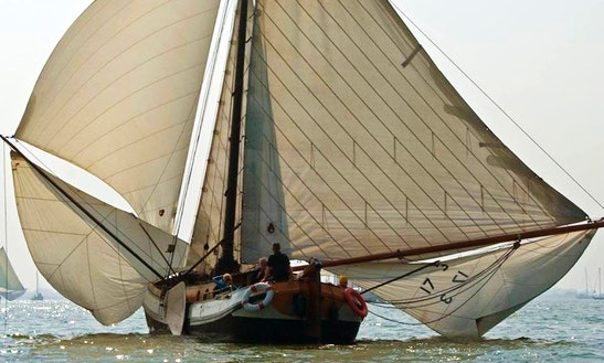 Sailing Charter On 48ft Gulet In Weesp, Netherlands
