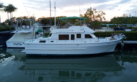 Trawler 41' For Rent In Key Biscayne