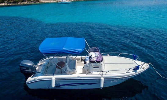 Ranieri Shadow 22 Deck Boat Rental In Mali Lošinj, Croatia