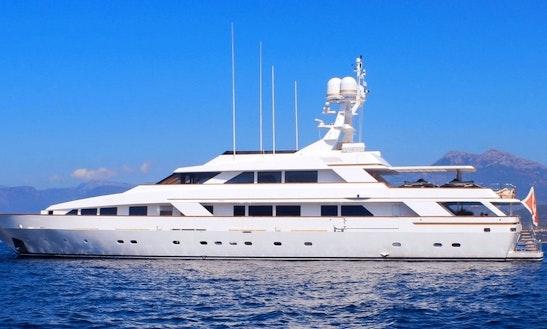 Power Mega Yacht For Rent In Genova