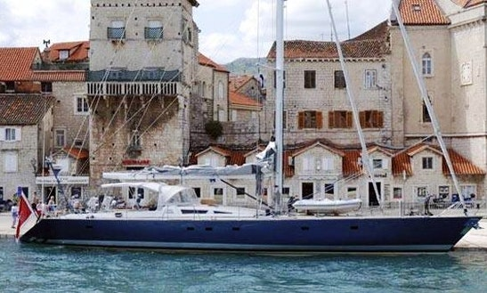 Charter A 10 Person Sloop In Acicastello, Italy For Island Hopping Fun
