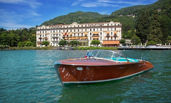 Deck Boat For Rent In Laglio