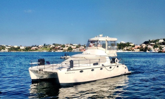 Charter 42' Double Play Power Catamaran In Southampton, Bermuda