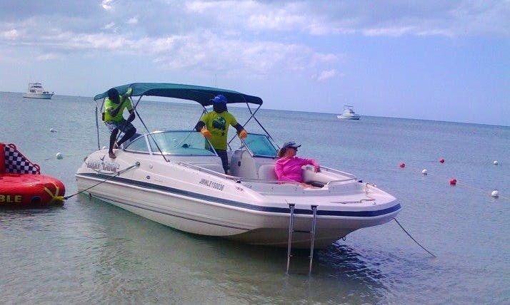 Enjoy a 7 Person Charter on Bowrider in Negril, Jamaica