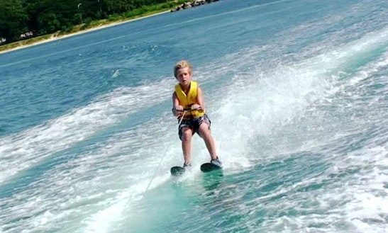 Enjoy Waterskiing In Montego Bay, Jamaica
