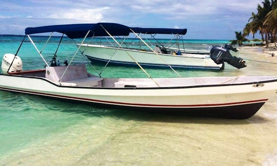 Private Fishing Tour On Center Console Boat In Placencia, Belize