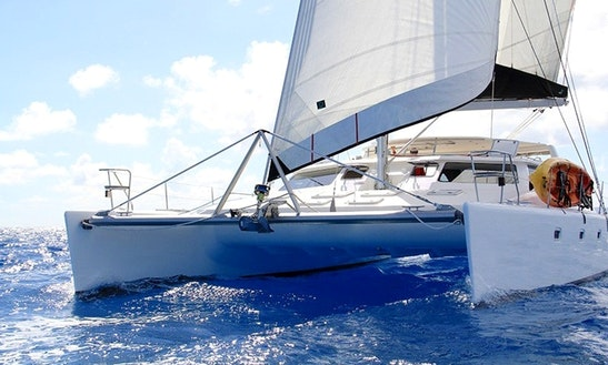 Cruising Catamaran Luxurious Charter