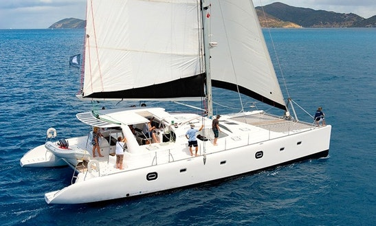 Luxury Cruising Catamaran 'off The Grid' Rental In Tortola