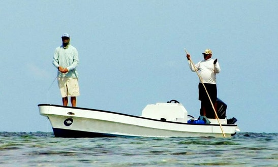Enjoy Fishing In Hopkins, Belize On Center Console