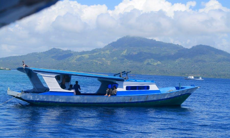 Deck Boat rental in Bunaken