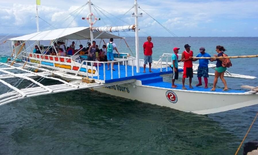 30 Person Boat Tour in Cordova, Philippines
