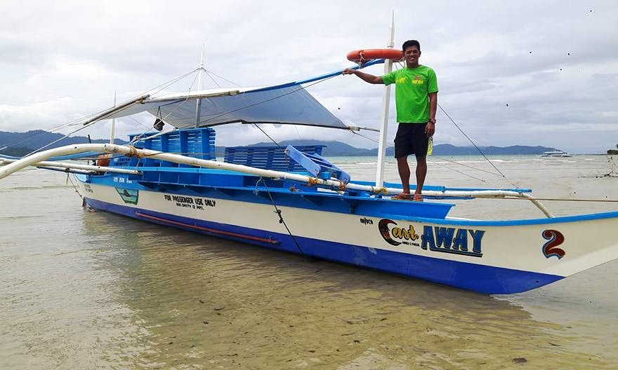 Classic Boat Trip for 12 People in Puerto Princesa, Philippines