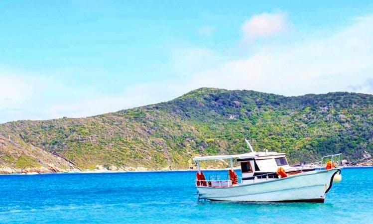 Charter a Motor Yacht in Arraial do Cabo, Brazil