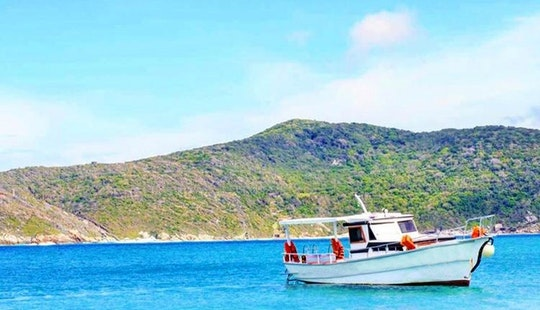 Charter A Motor Yacht In Arraial Do Cabo, Brazil