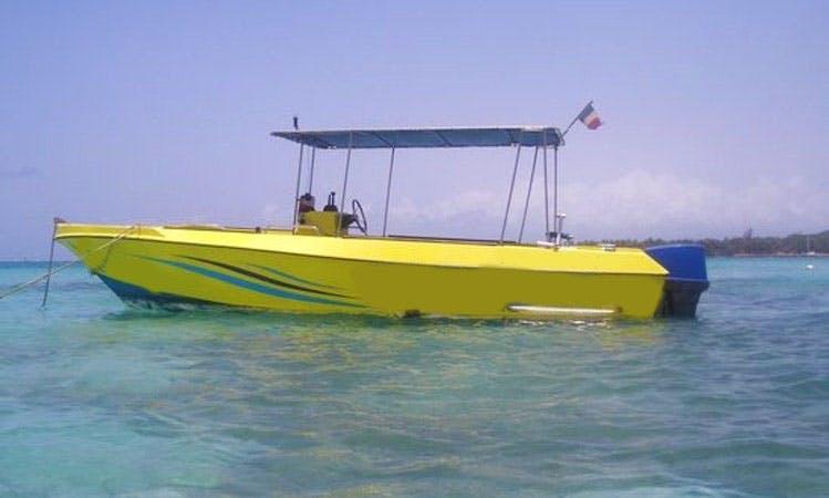 Dive Boat In Pointe-à-Pitre