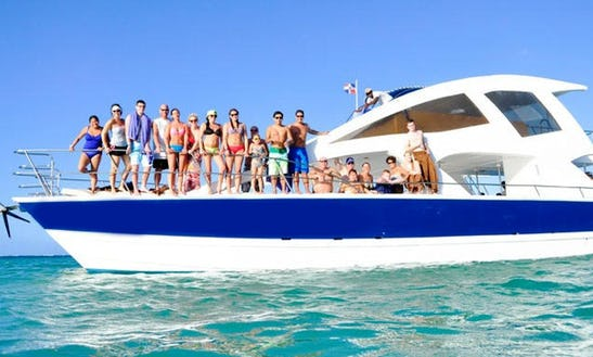Caribbean Paradise Tour Aboard A Spacious Catamaran In Punta Cana, Dominican Republic