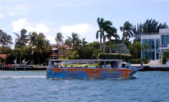 Duck Boat Adventure Tours & Charters In Miami Beach