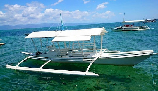 6 Person Pontoon Charter In Bais City, Philippines