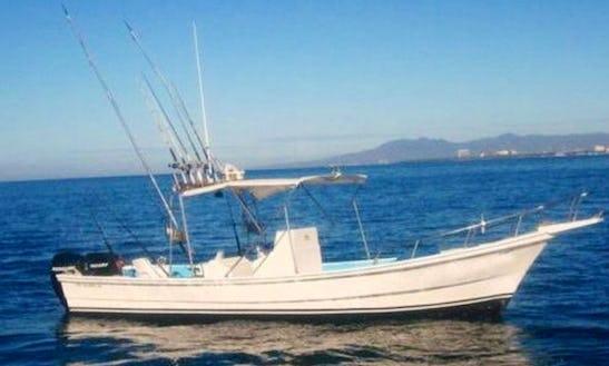 Enjoy Fishing In Puerto Vallarta, Mexico On 26' Center Console