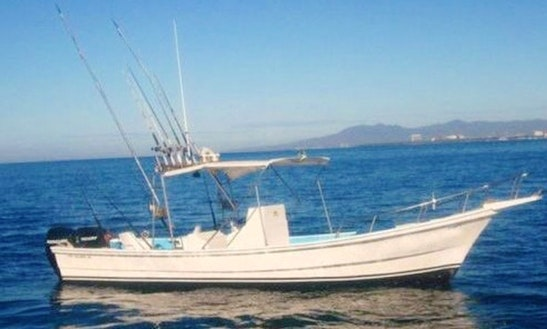 Enjoy Fishing In Puerto Vallarta, Mexico On 26' Center Console