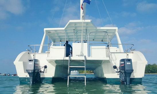 Charter A Power Catamaran In Punta Cana, Dominican Republic
