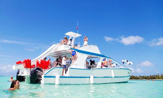 Punta Cana Party Boat For 50 People!