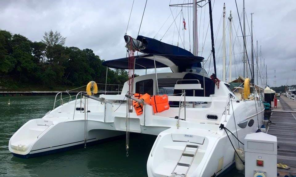 "Sleep Aboard a ""Lavezzi 40"" Cruising Catamaran Rental in Tambon Mai Khao"