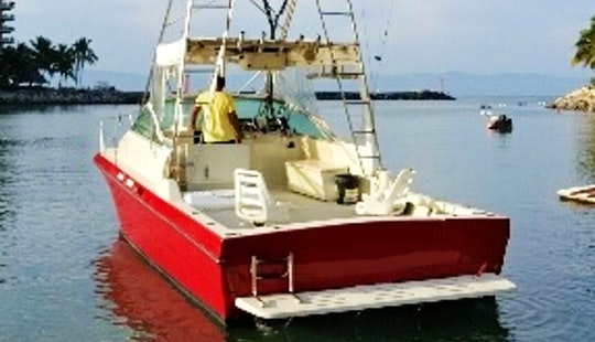 Fishing On Sea Ray 34' Charter In Nuevo Vallarta, Mexico