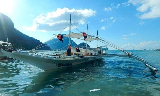 Enjoy El Nido Bay On This Traditional Boat In Mimaropa, Philippines