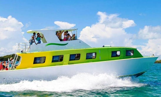 Water Taxi In Belize City, Belize