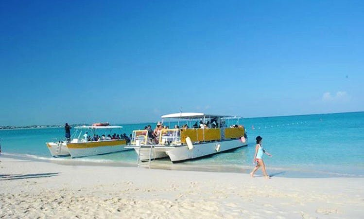 """45ft """"Dream Chaser"""" Power Catamaran Boat Charter in Caicos Islands, Turks and Caicos Islands"""