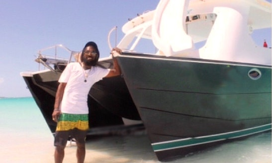 Private Power Catamaran Tours In Turks & Caicos With Captain Shaun
