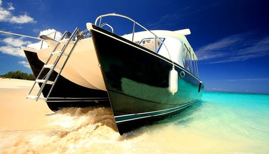 Grace Bay Private Power Catamaran Tours In Turks & Caicos