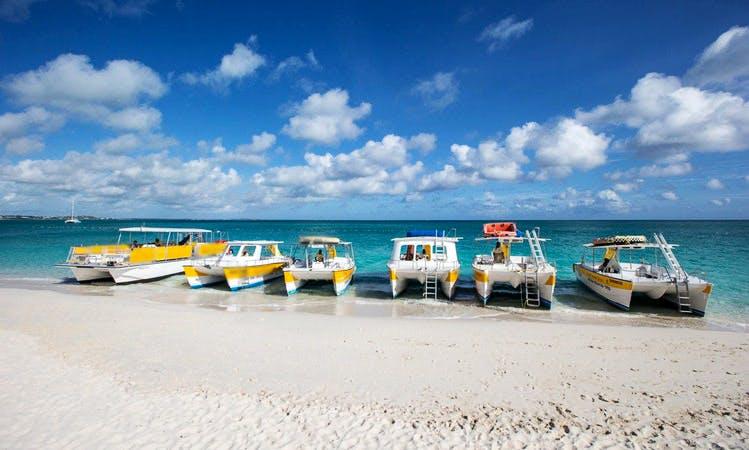 "36ft ""Stargazer"" Power Catamaran Boat Charter in Caicos Islands, Turks and Caicos Islands"