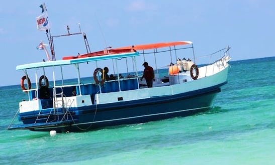 Have A Splendid Diving Charter Experience With Up To 25 People In Cayo Coco Island, Cuba