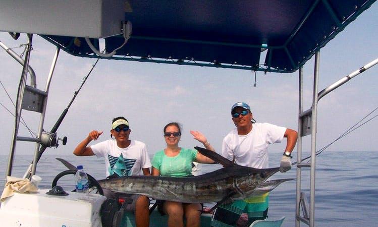 "25' Center Console ""Snook"" Fishing Charter in Crucecita, Mexico"