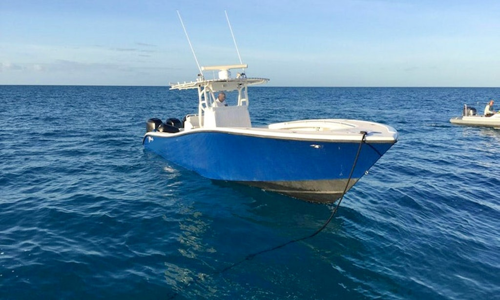 36ft flying fish yellowfin center console in nassau the for Nassau fishing charters