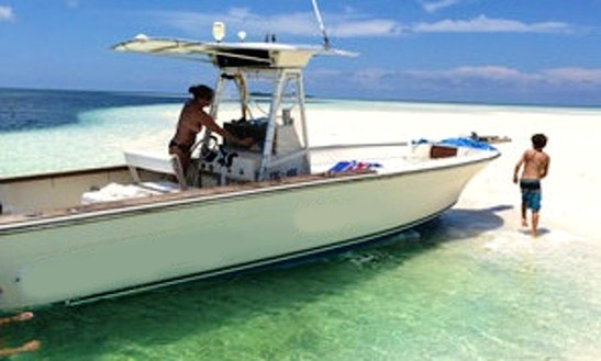 Enjoy Fishing In Saint John's, Antigua And Barbuda On Center Console
