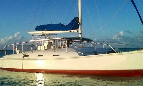 Charter A 52' Cruising Catamaran In Turks & Caicos Islands